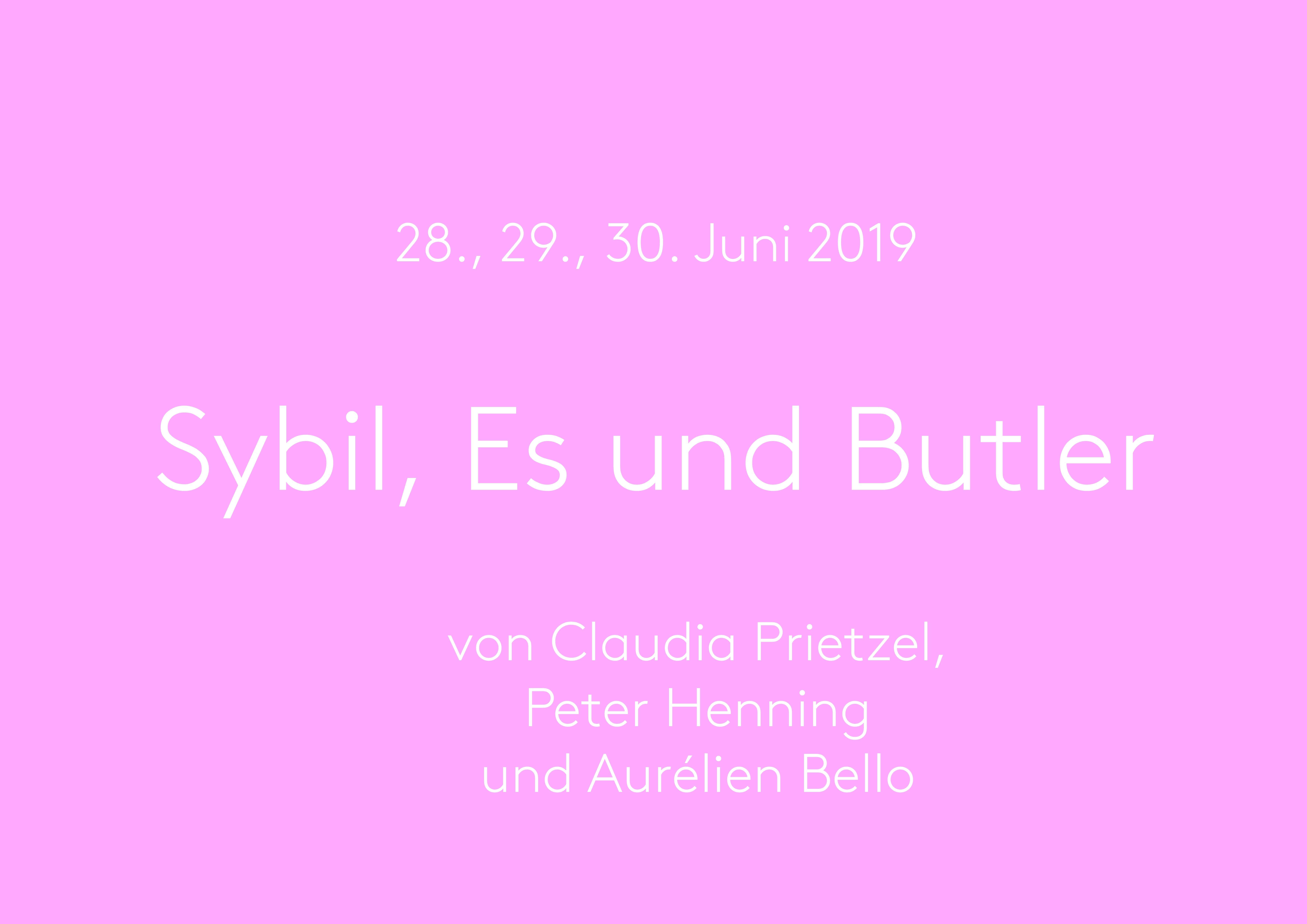 Sybil Es und Butler
